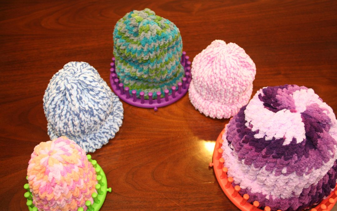 Learn the Skill of Loom Knitting