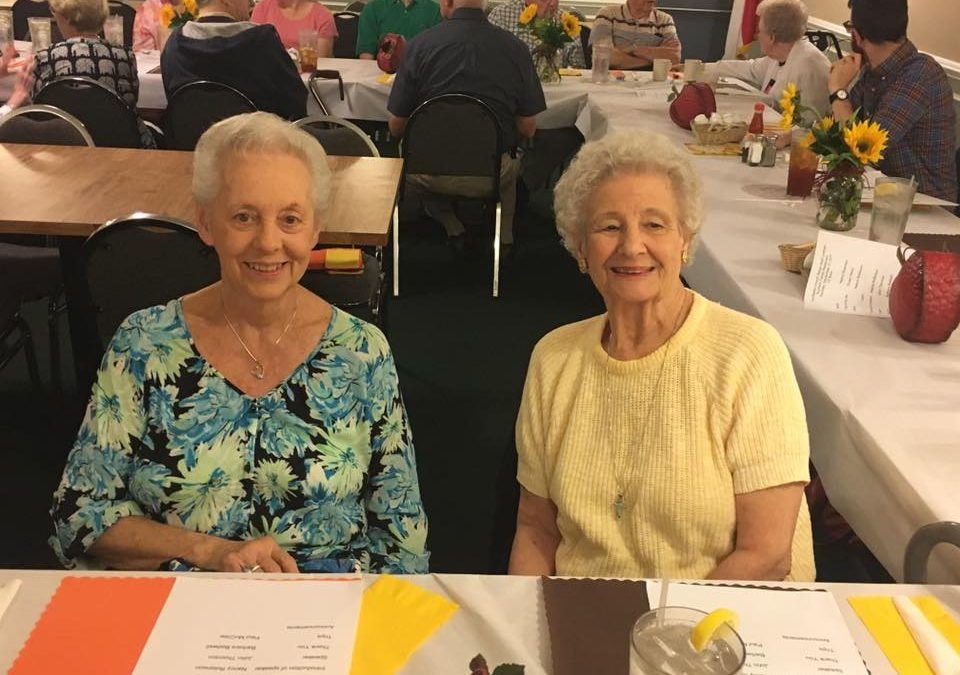 Senior Adult Luncheon is September 20