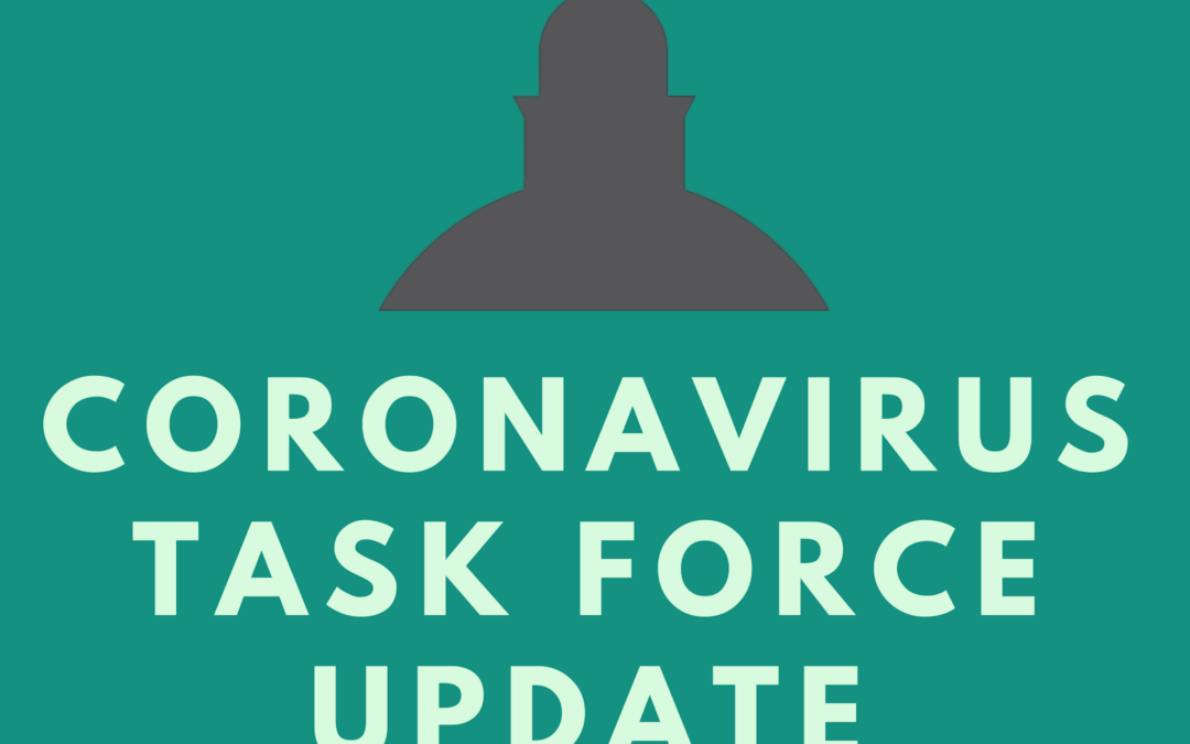 Important News from the Coronavirus Task Force